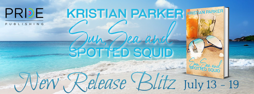 Sun, Sea, and Spotted Squid by Kristian Parker